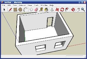 SketchUp Разведка боем Миссия первая