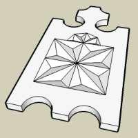 SketchUp - вытягивание вершин