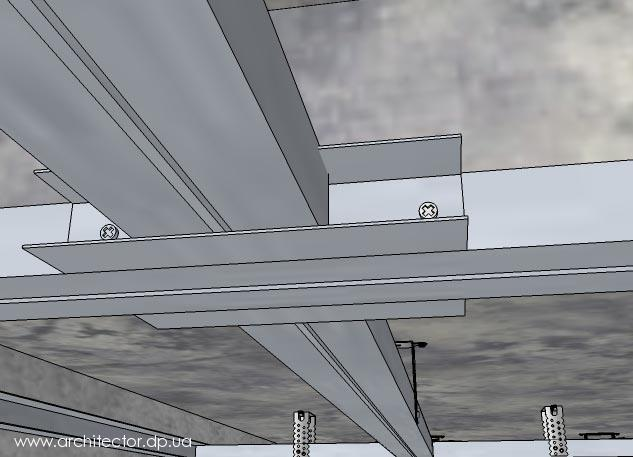 Потолки из гипсокартона