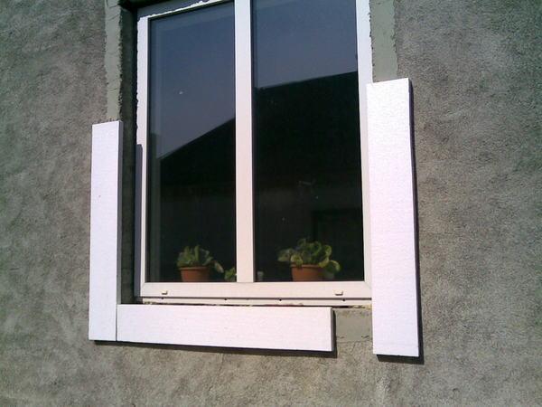 Дверные откосы из пенопласта